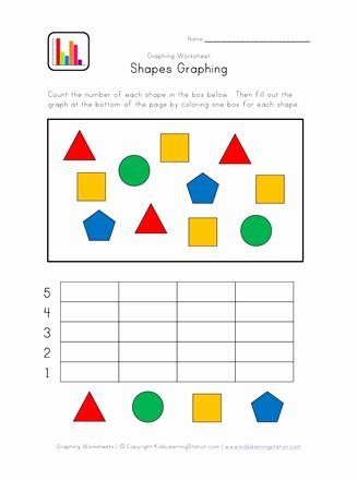 Graphing Worksheets for Preschoolers New Kindergarten Graphing Worksheet
