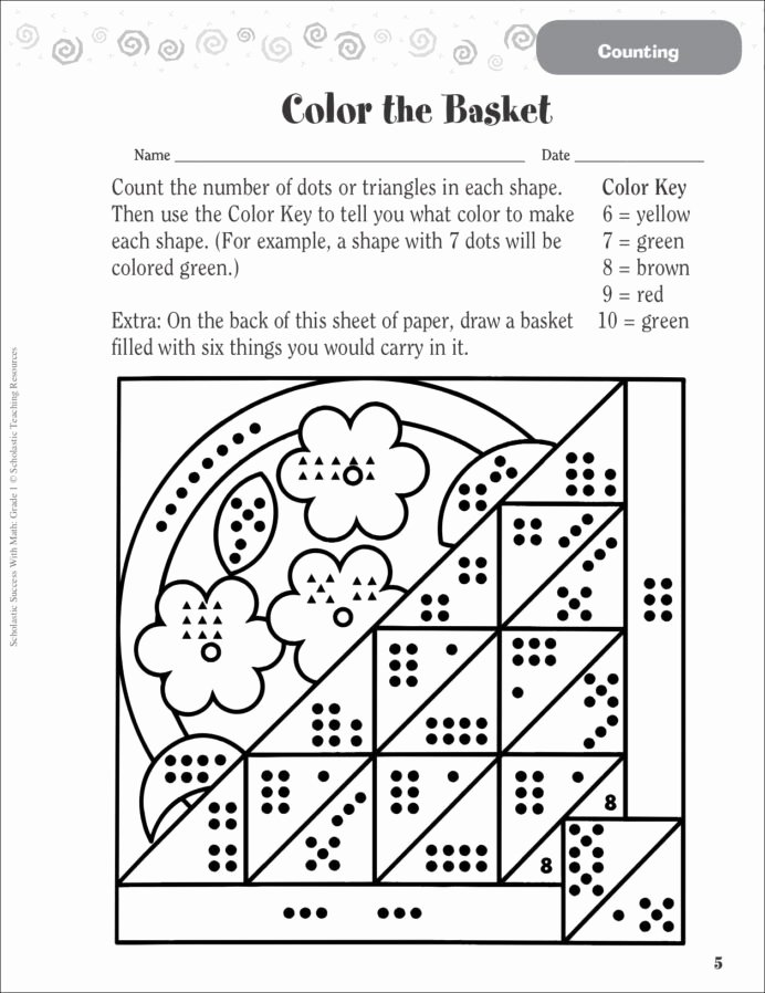 Green Worksheets for Preschoolers New Kumon Nyc Sequencing with Printable Numbers From 1