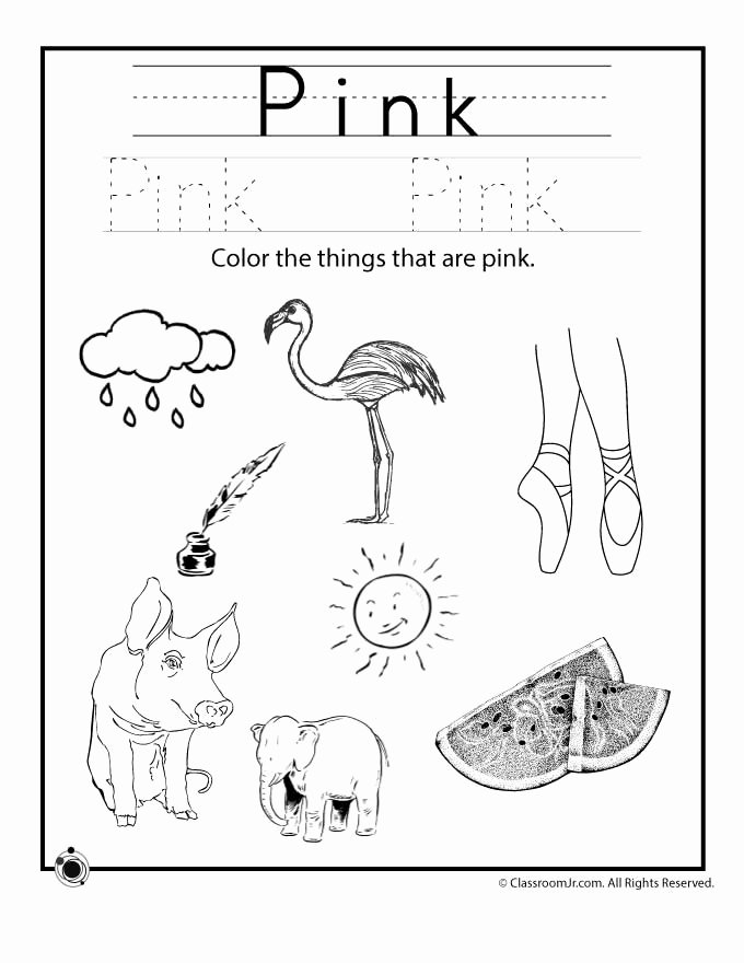 Green Worksheets for Preschoolers New Learning Colors Worksheets for Preschoolers