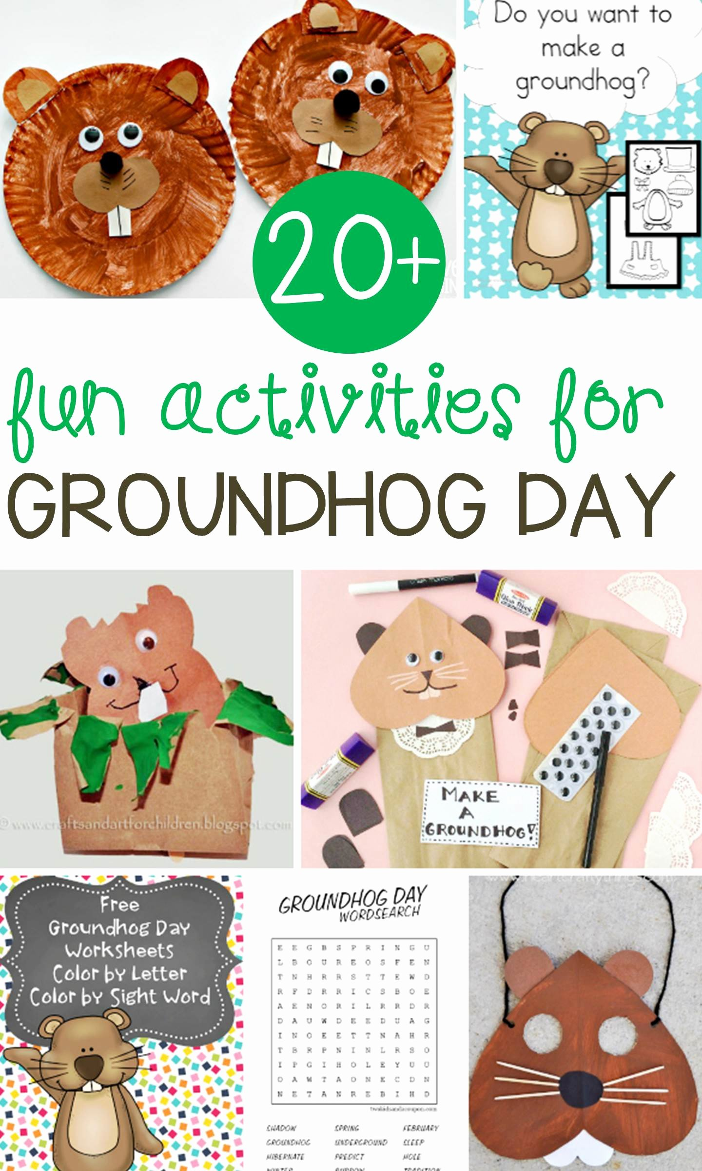 Groundhog Day Worksheets for Preschoolers New Fun Groundhog Day Activities for Kids Learn & Celebrate