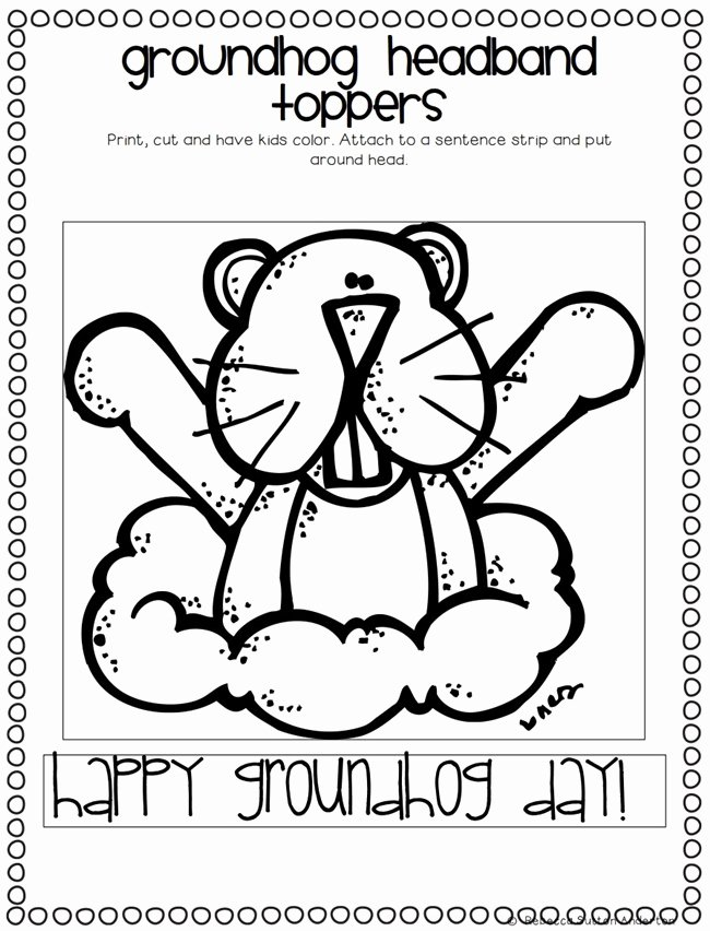 Groundhog Day Worksheets for Preschoolers New Ground Hog Day Printable 3 Dinosaurs Groundhog Day Pack