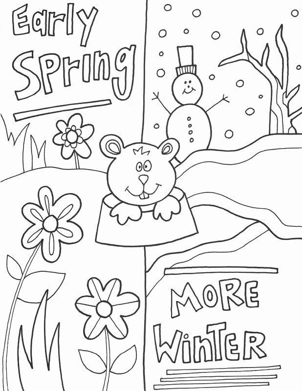 Groundhog Day Worksheets for Preschoolers top Groundhog Day Worksheets