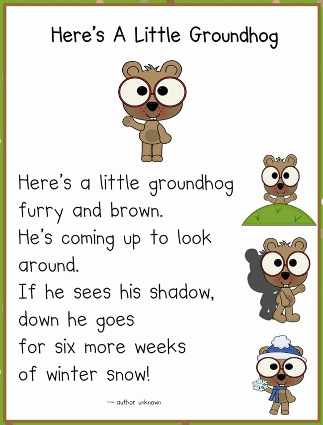 Groundhog Day Worksheets for Preschoolers top It S Groundhog Day 16 Free Teacher Ideas Teach Junkie