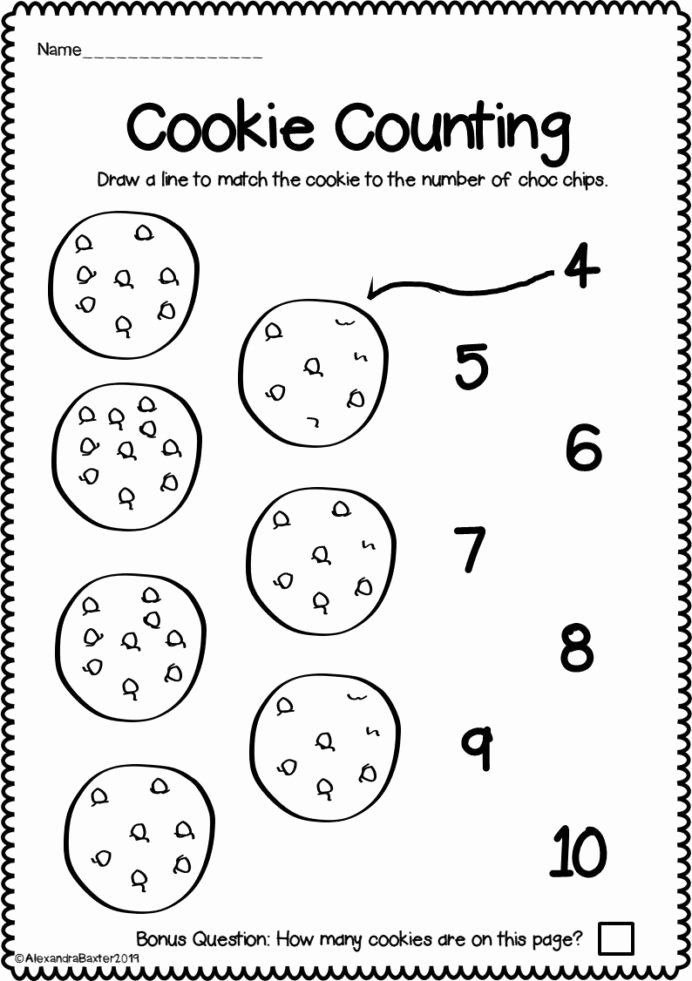 Halloween Counting Worksheets for Preschoolers Best Of Counting to Worksheets for Kindergarten Distance Learning