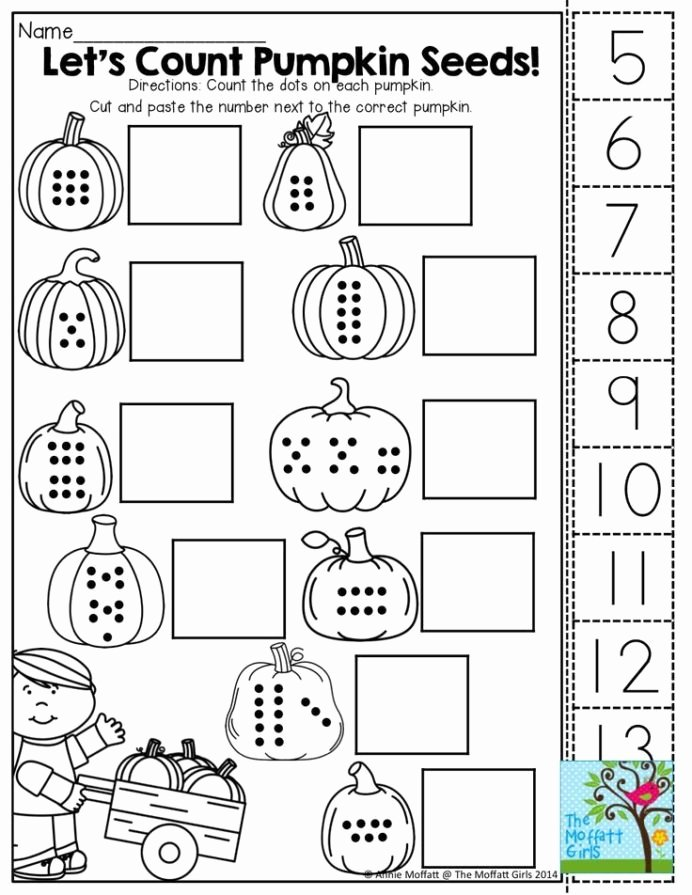 Halloween Counting Worksheets for Preschoolers Fresh October Fun Filled Learning Resources Worksheets for Kids