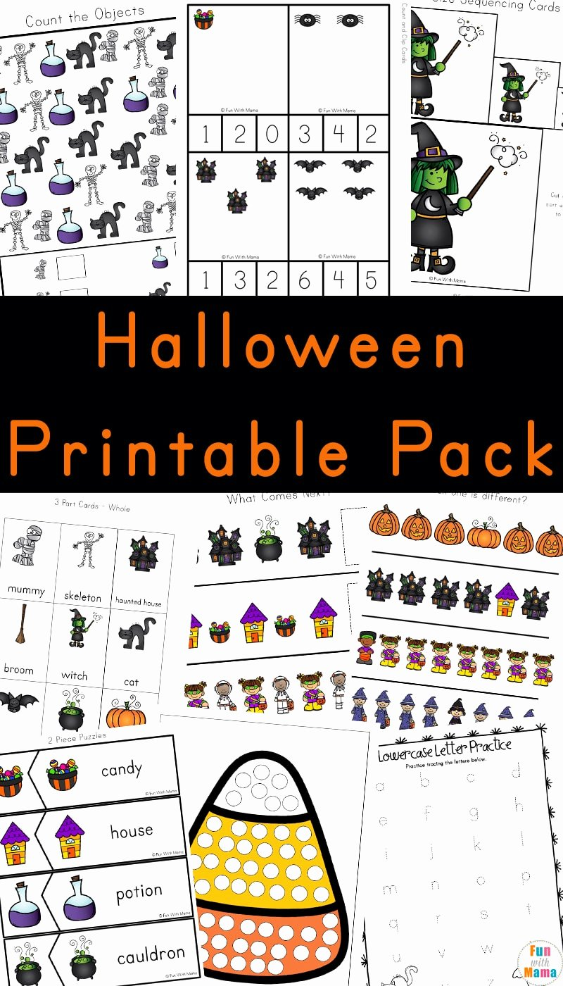 Halloween Printable Worksheets for Preschoolers Awesome Worksheet Incredible Printable Activitiesr Preschoolers