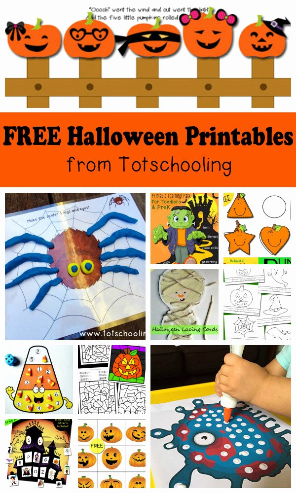 Halloween Printable Worksheets for Preschoolers top Free Halloween Printables for Kids