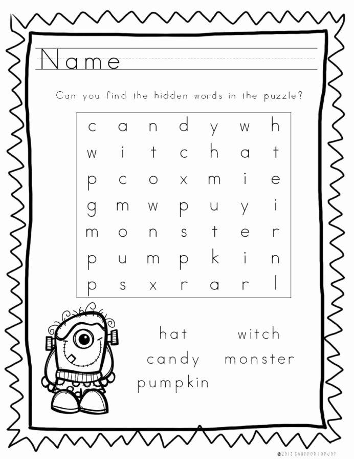 Halloween themed Worksheets for Preschoolers Inspirational these Halloween themed Worksheets are Wonderful Time Filler
