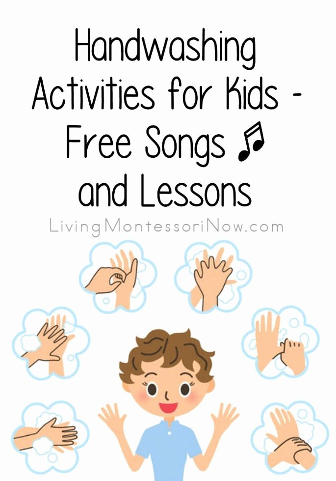 Hand Washing Worksheets for Preschoolers Fresh Handwashing Activities for Kids Free songs and Lessons