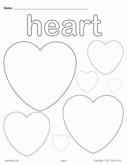 Heart Shape Worksheets for Preschoolers Fresh 12 Shapes Coloring Pages