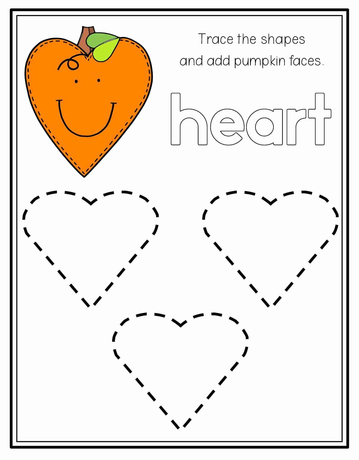 Heart Shape Worksheets for Preschoolers New Shapes Archives Preschool Mom