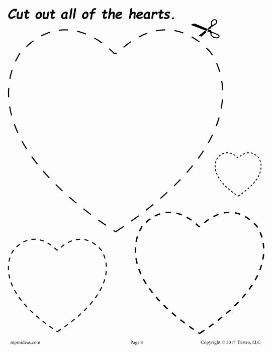 Heart Worksheets for Preschoolers Lovely Pin Auf Panenky