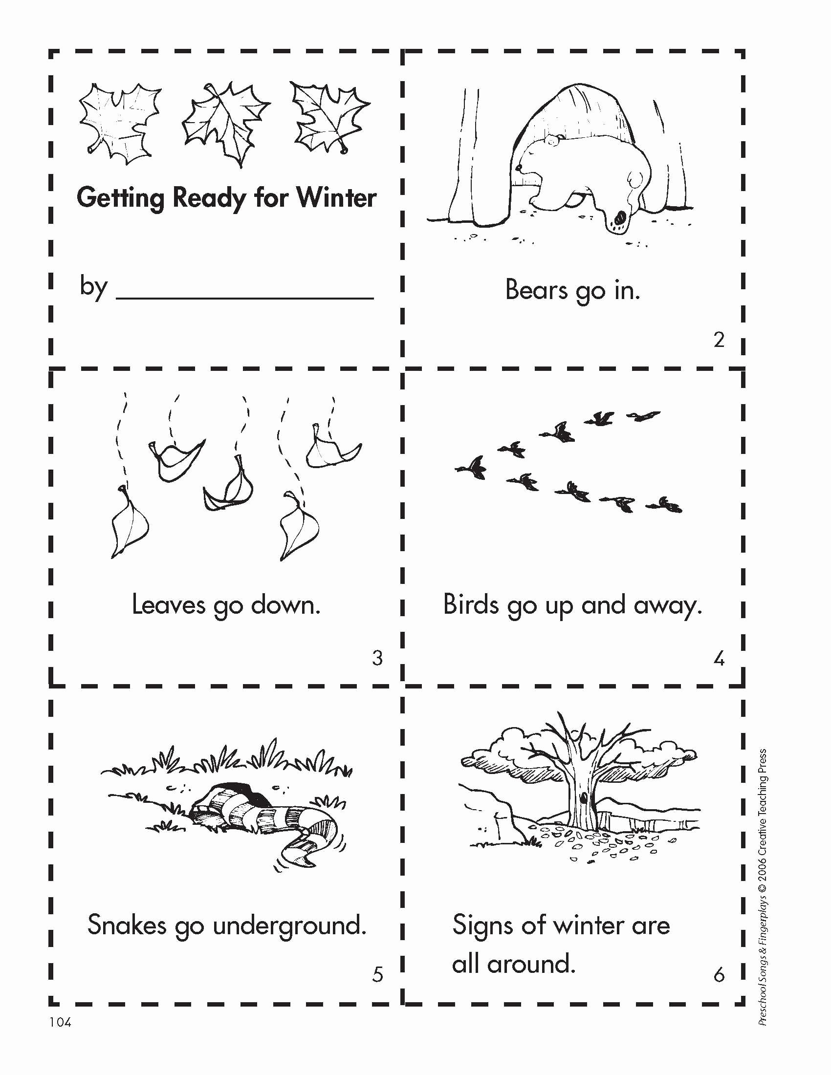 Hibernation Worksheets for Preschoolers Fresh Hibernation Animals Worksheets