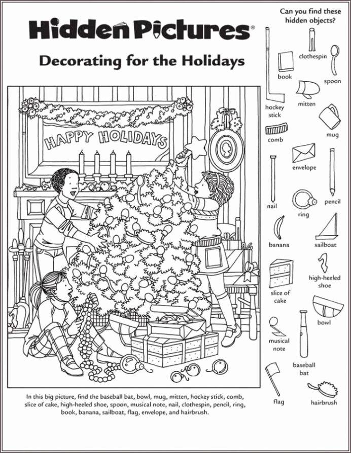 Hidden Objects Worksheets for Preschoolers Unique Hidden Worksheet for Middle School Puzzles
