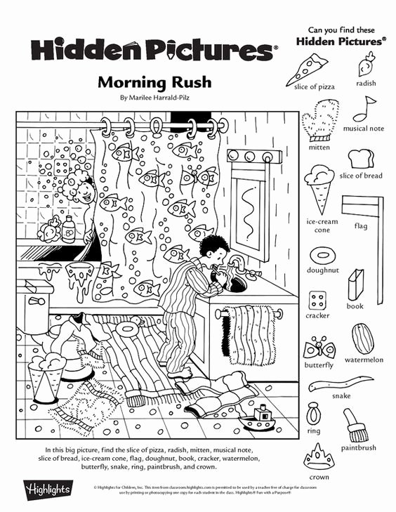 Hidden Picture Worksheets for Preschoolers Fresh Collection Of Free Printable Hidden Picture Worksheets