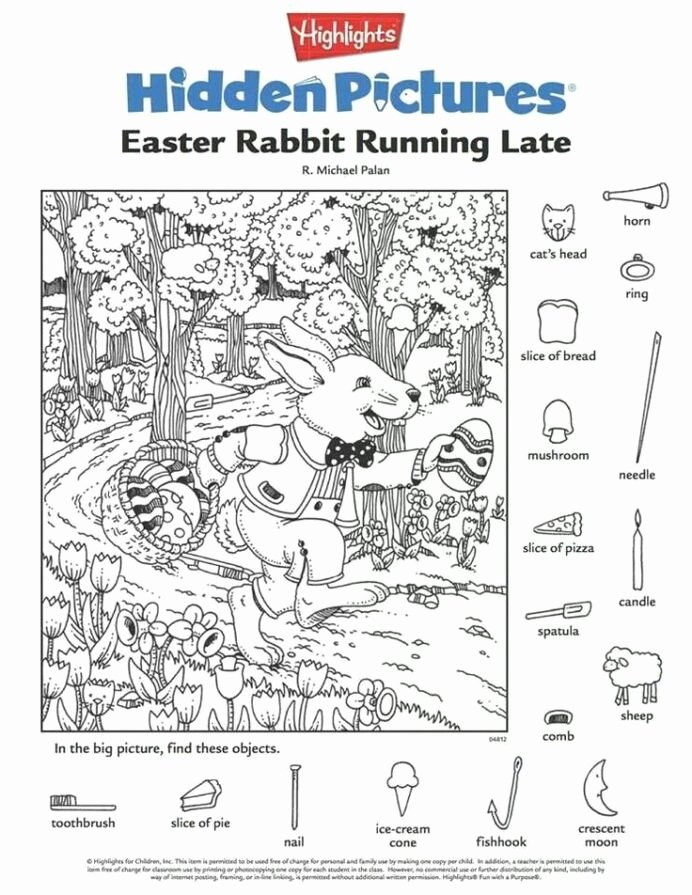Hidden Picture Worksheets for Preschoolers Inspirational Engaging Hidden Kittybabylove Worksheets Easter