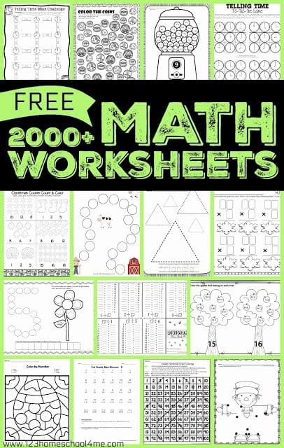 Homeschooling Worksheets for Preschoolers Best Of Math Worksheets Games Homeschool Free Printable Arithmetic