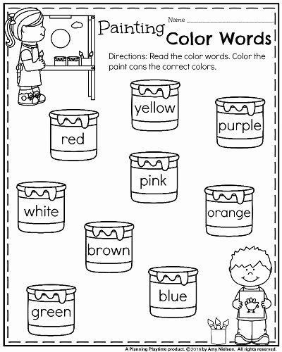 Homeschooling Worksheets for Preschoolers Fresh Back to School Kindergarten Worksheets Planning Playtime