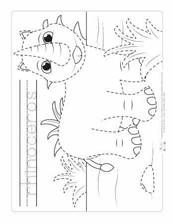 Jungle Animals Worksheets for Preschoolers top Safari and Jungle Animals Tracing Worksheets Itsybitsyfun