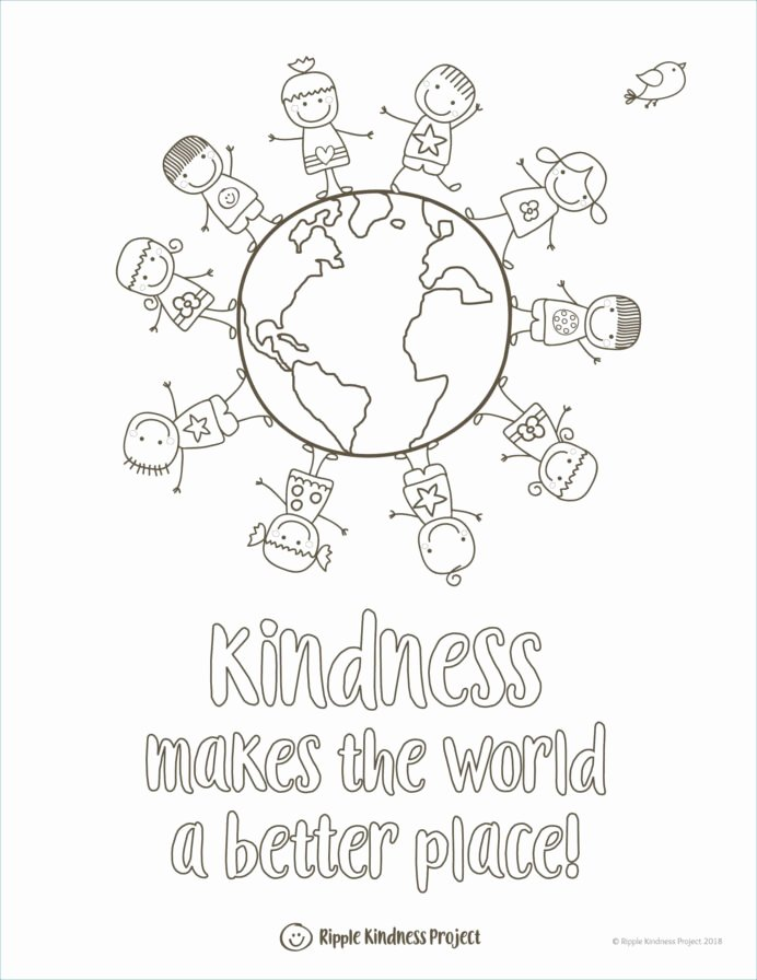 Kindness Worksheets for Preschoolers Beautiful Coloring Preschool Color Book Printable Inspirational