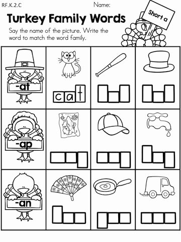 Language Worksheets for Preschoolers Best Of Thanksgiving Literacy Activities Kindergarten