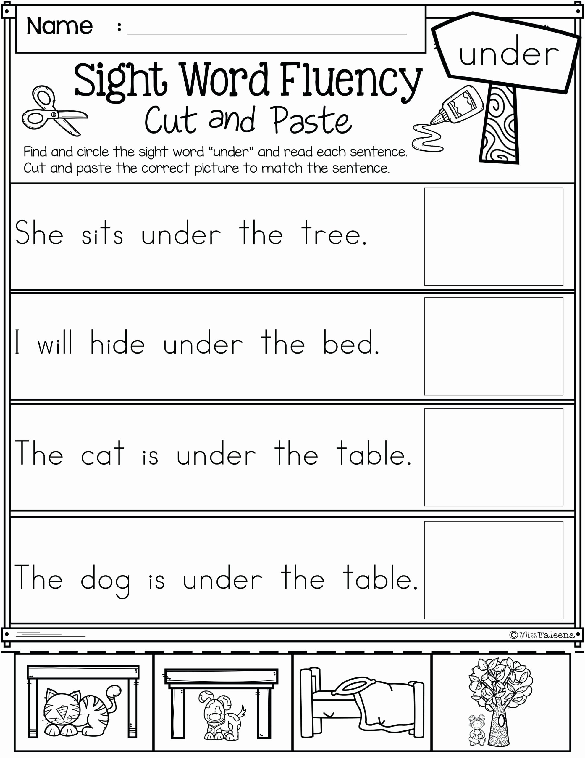 Language Worksheets for Preschoolers Fresh Math Worksheet Reading Level toddler Preschool Non