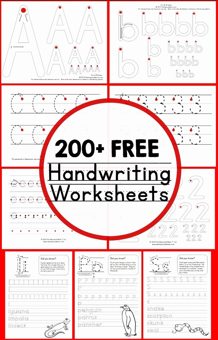 Learn to Write Worksheets for Preschoolers Inspirational Teaching Handwriting the Measured Mom