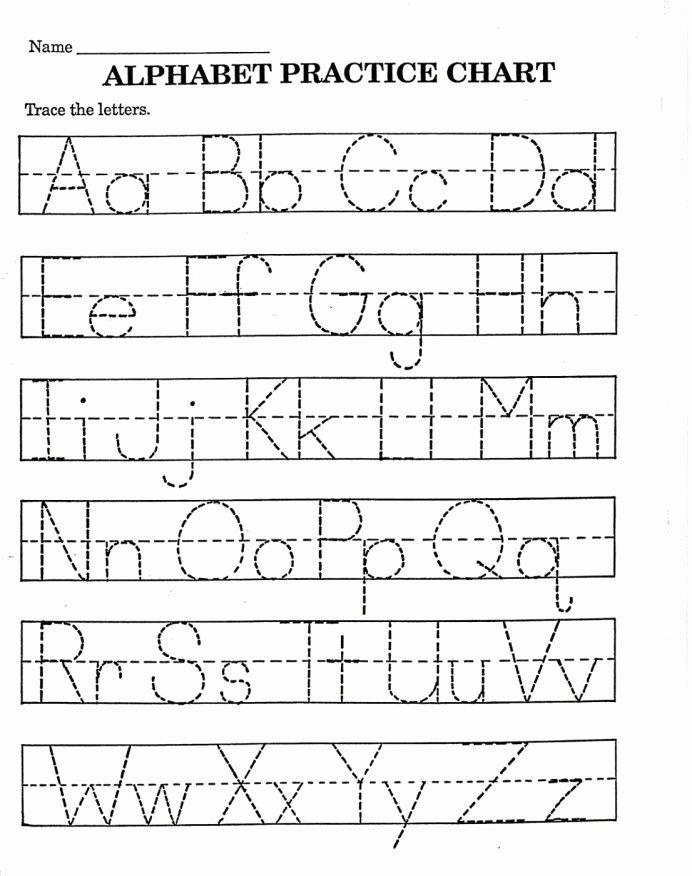 Learn to Write Worksheets for Preschoolers top Worksheet Worksheet Nursery Alphabet Writing Practice