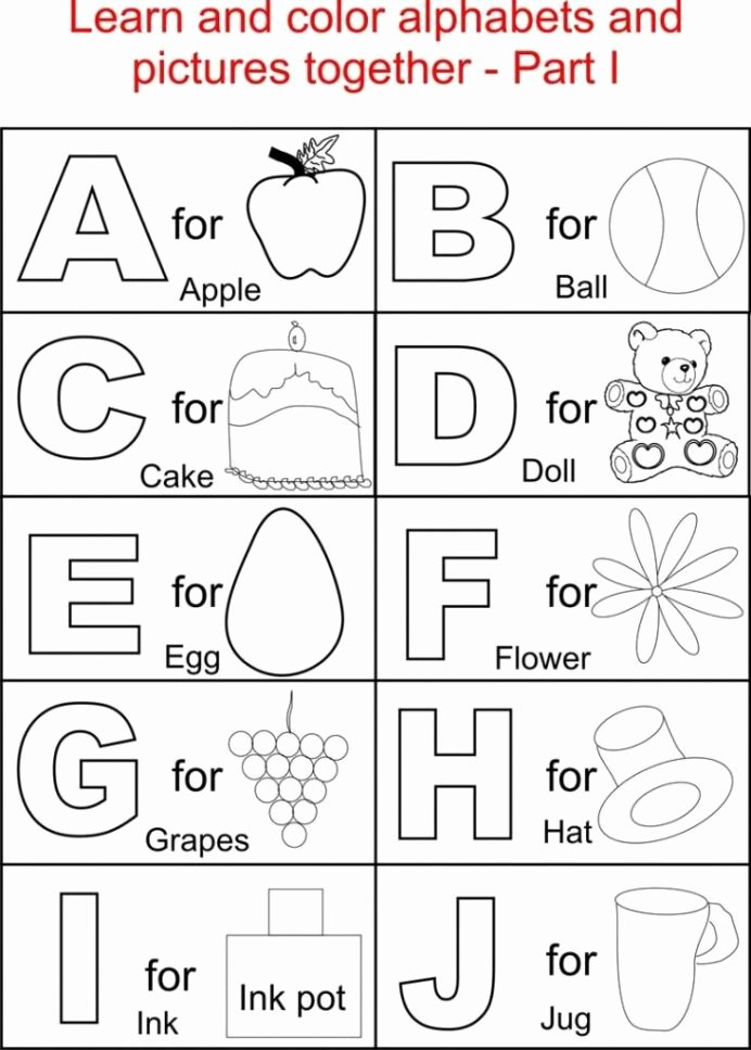Learning Colors Worksheets for Preschoolers New Printables Kindergarten Coloring Printable Worksheets