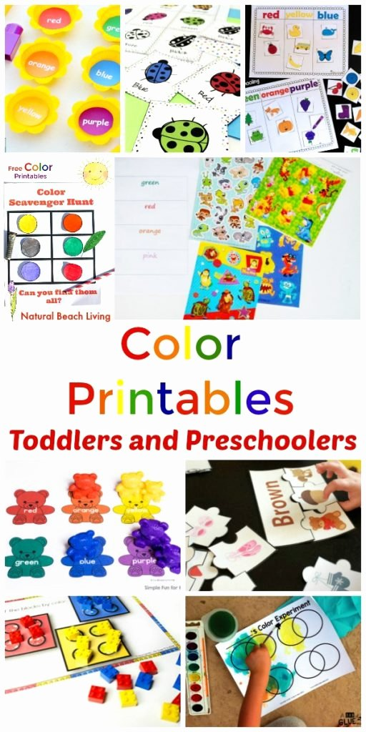 Learning Colors Worksheets for Preschoolers top Preschool Color Activities Printables Learning Colors