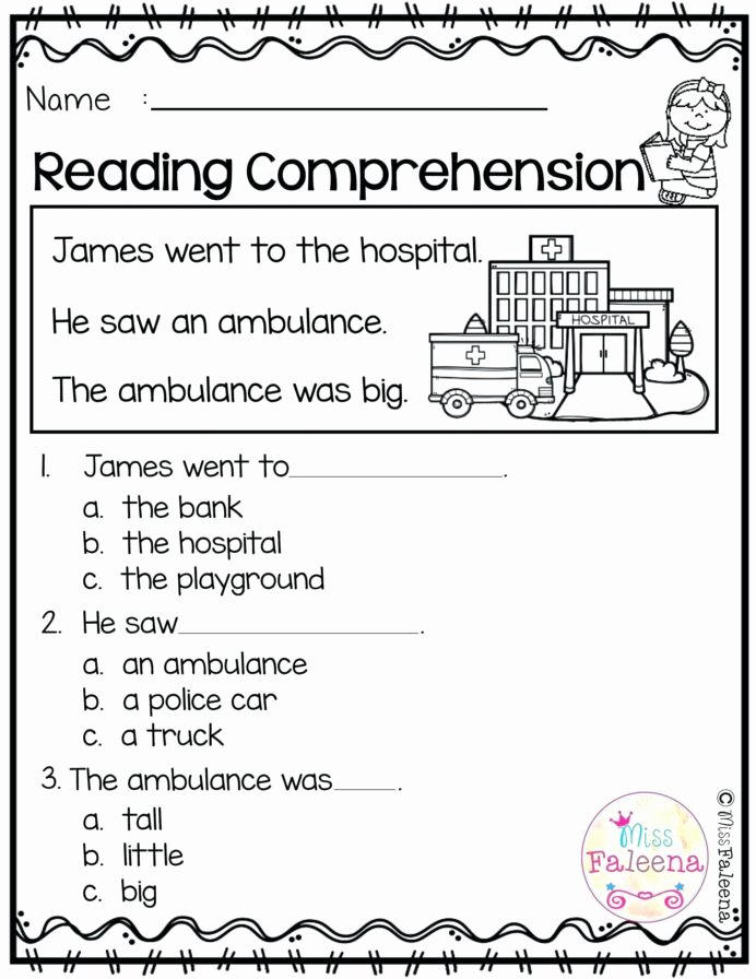 Learning Worksheets for Preschoolers Beautiful Kindergarten Math Test Pdf Learning Worksheets Hospital