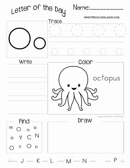 Letter A Printable Worksheets for Preschoolers Inspirational Letter Of the Day Printable Worksheets Subscriber Freebie