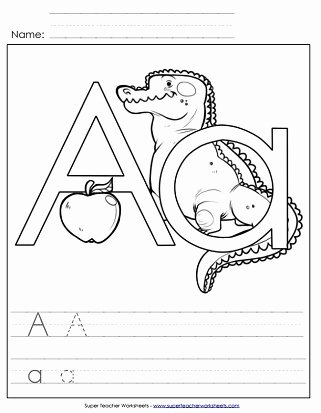 Letter A Worksheets for Preschoolers top Letter A Worksheets Recognize Trace & Print