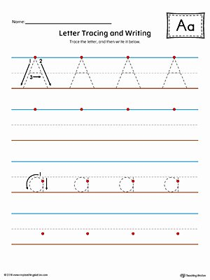 Letter A Writing Worksheets for Preschoolers Best Of Worksheet Thank You Letterg Worksheets Preschoolers Free