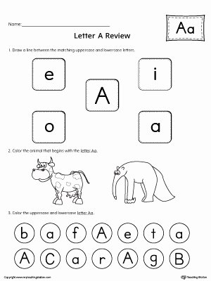 Letter Aa Worksheets for Preschoolers Awesome All About Letter A Printable Worksheet