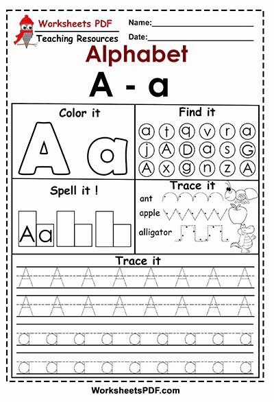 Letter Aa Worksheets for Preschoolers top Letter A A Activities Free Printables Worksheets Pdf