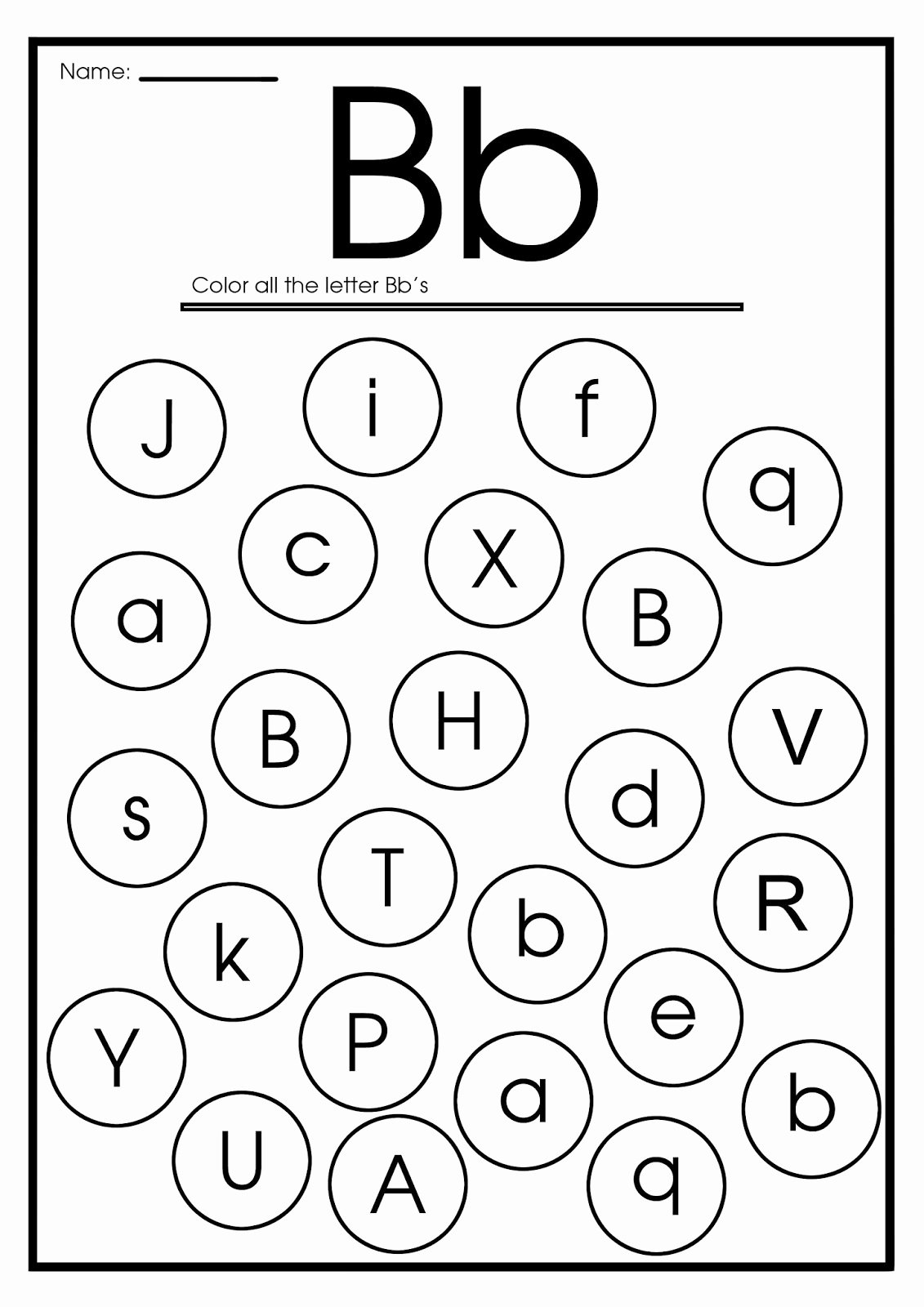 Letter B Worksheets for Preschoolers Unique Letter B Worksheets Flash Cards Coloring Pages