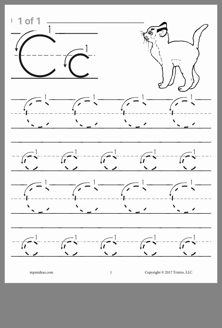 Letter C Tracing Worksheets for Preschoolers Awesome Pin by andrea Shiloff On Activities for Kate