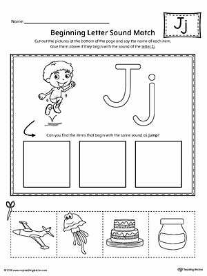 Letter J Worksheets for Preschoolers Inspirational Letter J Mini Book Printable
