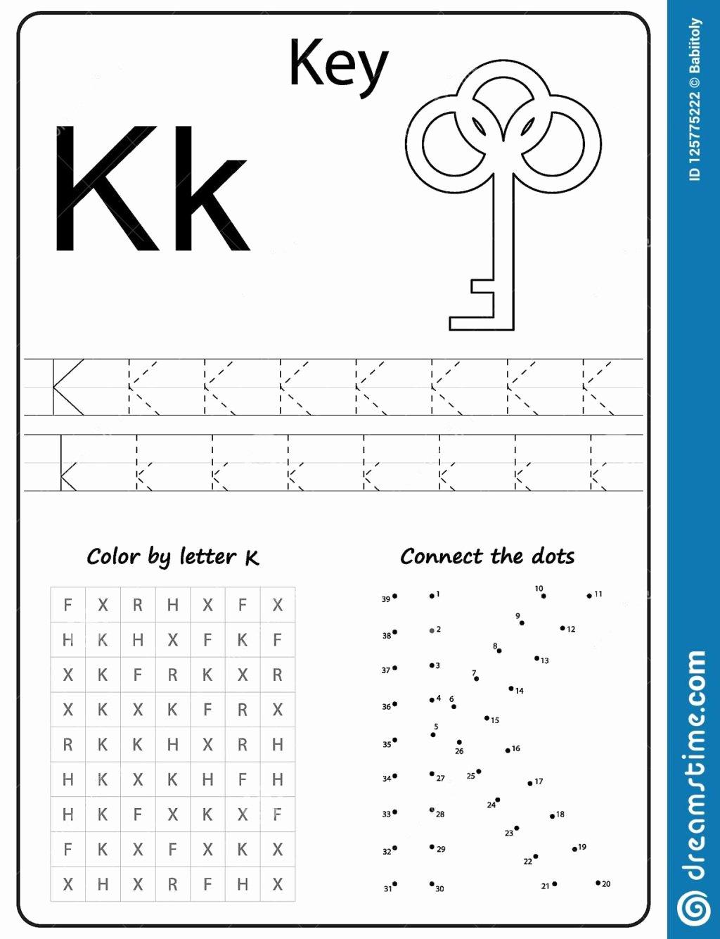 Letter K Worksheets for Preschoolers Inspirational Worksheet Kheets for Preschool Free Printable toddlers
