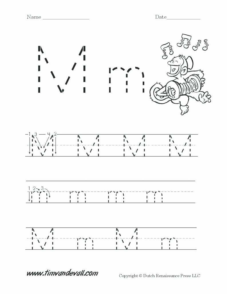 Letter M Worksheets for Preschoolers Beautiful Letter M Worksheets for Free Download Letter M Worksheets