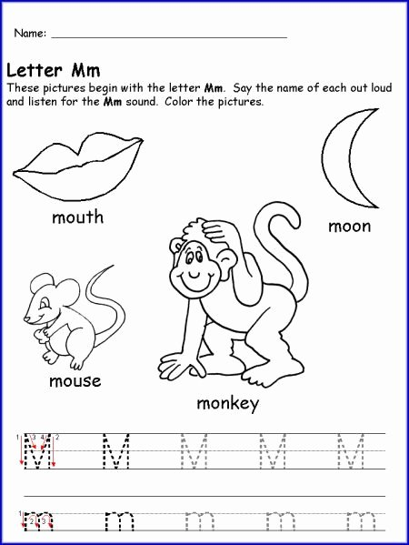 Letter M Worksheets for Preschoolers Unique Pin by Jessica Eaton On Anniversary