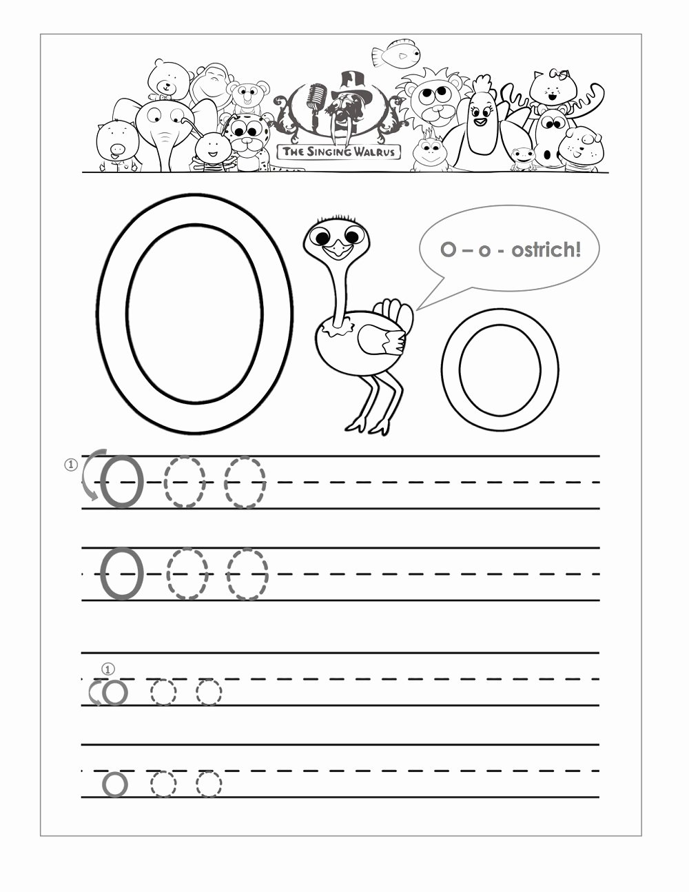 Letter O Worksheets for Preschoolers Awesome Worksheet the Letter Oorksheets for Kindergarten Object
