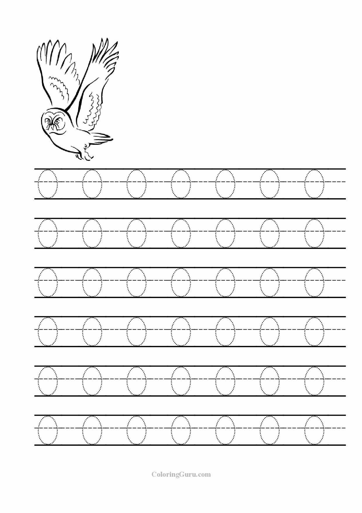 Letter O Worksheets for Preschoolers Fresh Letter O Worksheets for Educations Letter O Worksheets