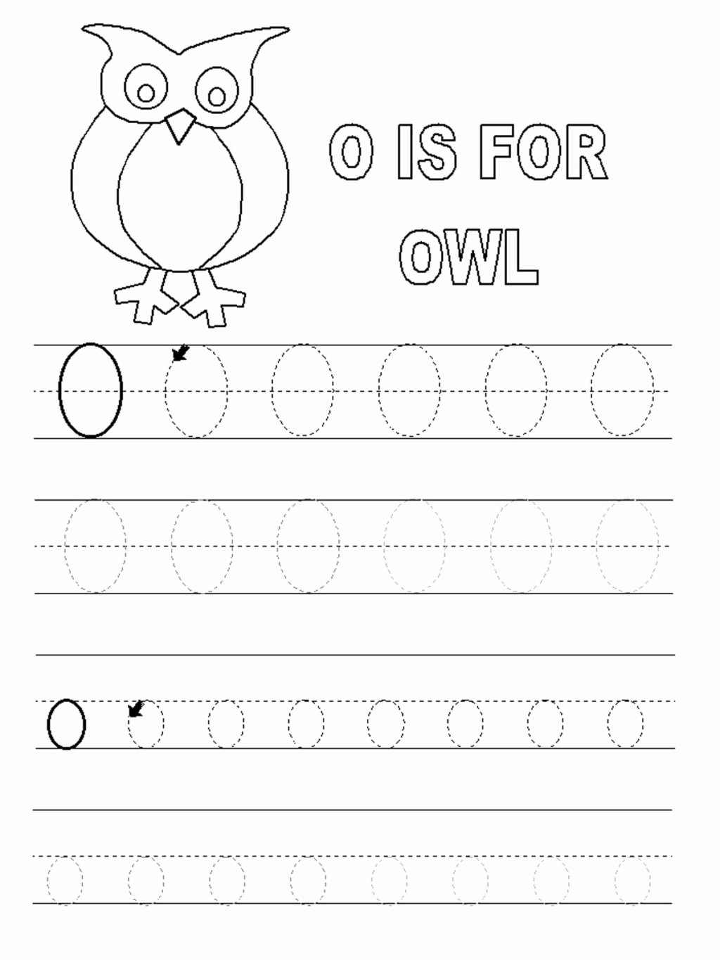 Letter O Worksheets for Preschoolers Inspirational Worksheet Letter O Worksheets forl Alphabet Short