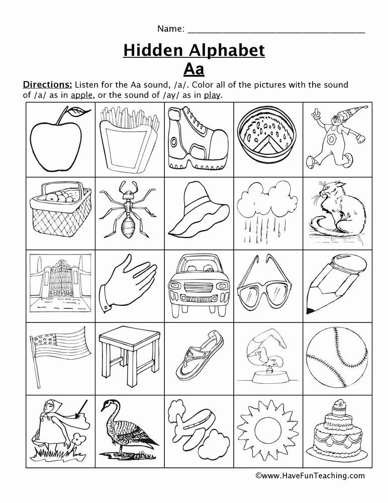 Letter sound Worksheets for Preschoolers Best Of Letter sounds Worksheets