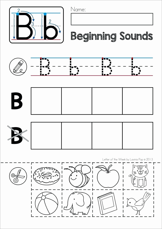 Letter sound Worksheets for Preschoolers Inspirational Letter sound Worksheets for Printable Letter sound