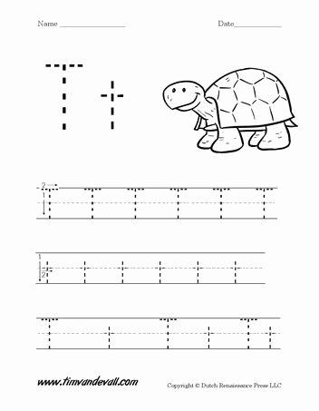 Letter T Worksheets for Preschoolers New Wordpress › Error