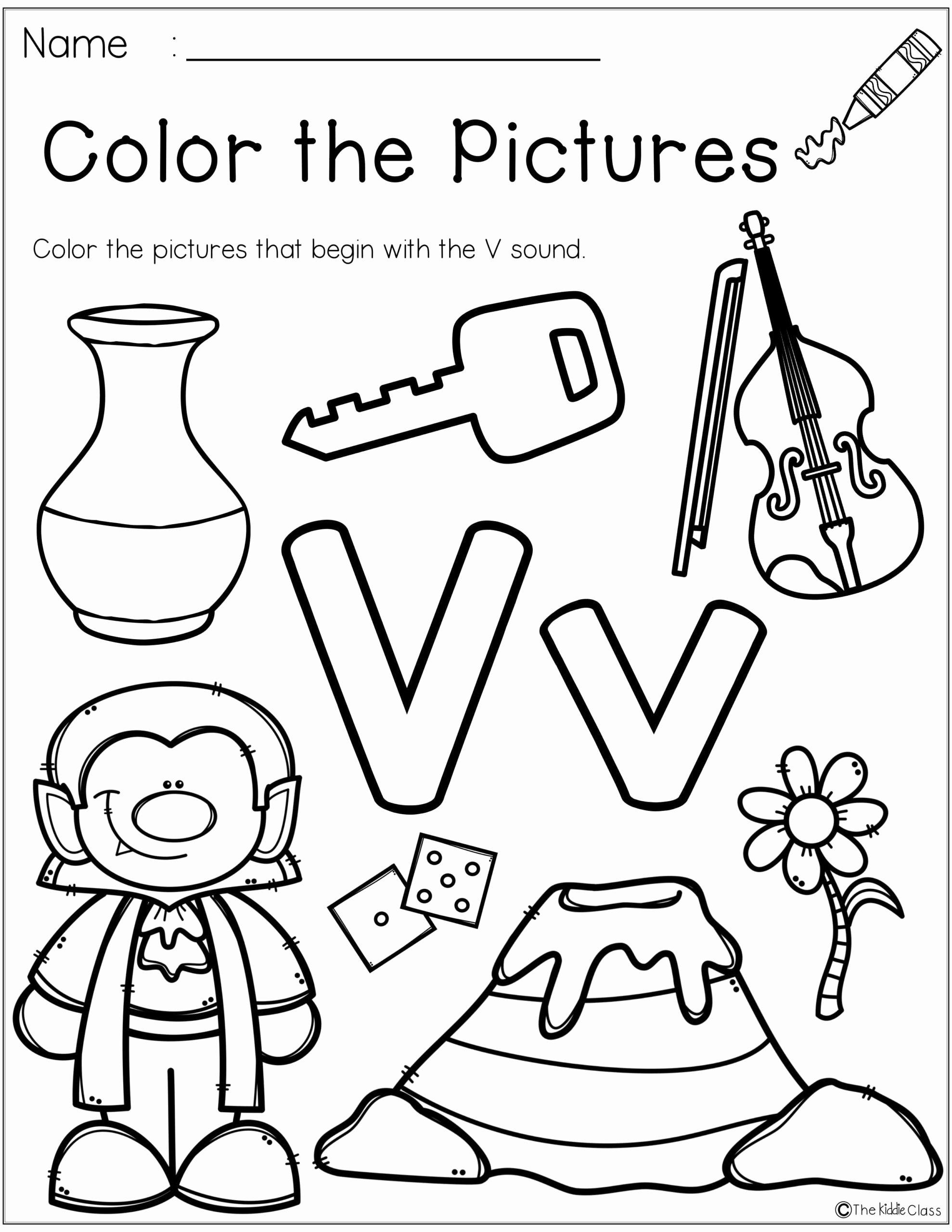 Letter V Worksheets for Preschoolers New Preschool Worksheets with Letter Worksheet Teddy Bear