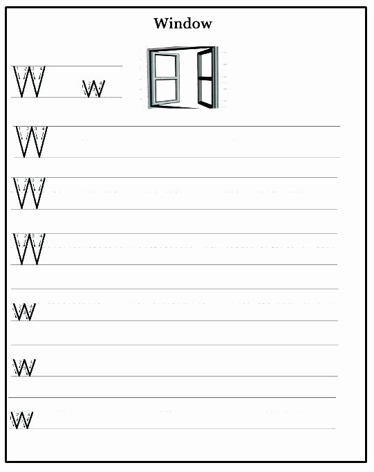 Letter W Worksheets for Preschoolers New 13 Awesome Letter W Worksheets for You